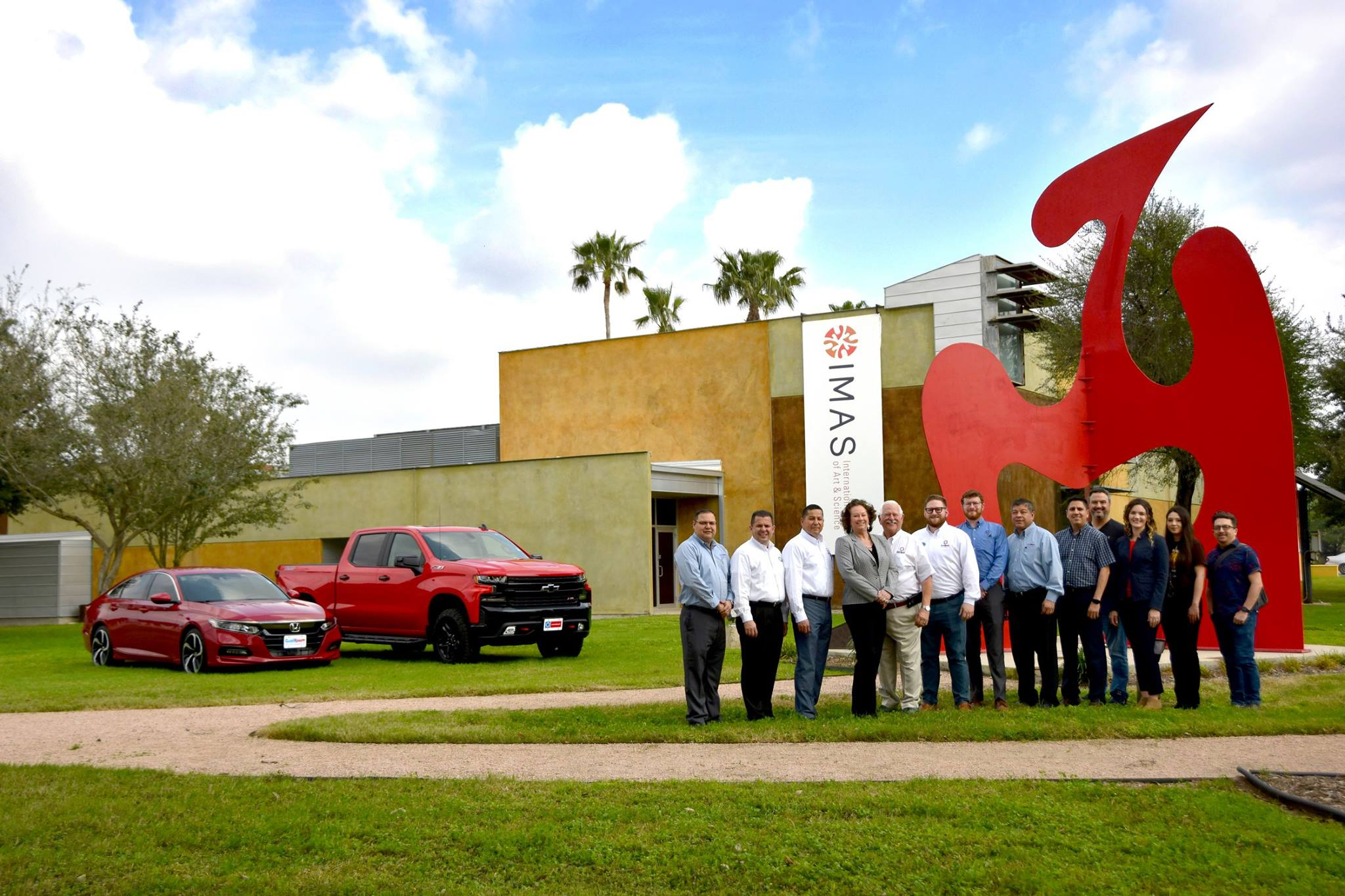 Clark Chevrolet and Clark Knapp Honda support the IMAS